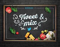 Tweet & mix