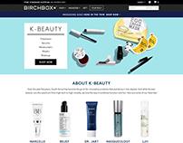 Birchbox Product Design