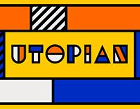 Utopian - animated typeface