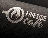 Fireside Cafe Branding
