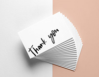 Thank you cards | I DO Events