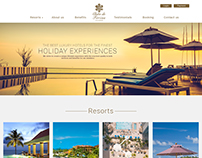 Resort Booking Website