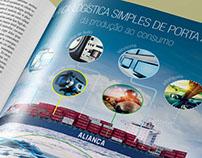 Aliança Navegação | Campanha Impressa e Online