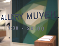 """MUVEIL  2015 Pre Fall Collection """" Exhibition Display"""""""