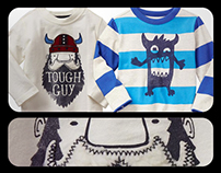 Gap Factory Holiday 2015 Boys Graphic Tee Shirts