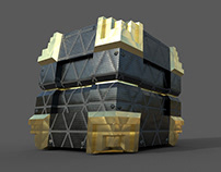 Lootbox 3DS MAX
