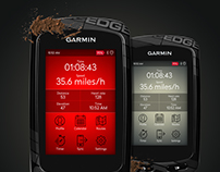 Garmin Edge UI