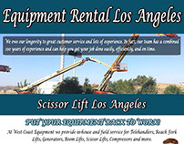 Equipment Rental Los Angeles