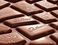 3D of Cadbury Marvellous Creations chocolate bar