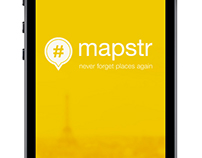 Mapstr - Proposals for improving the user interface.