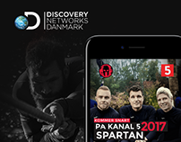 Spartan for Discovery Network Danmark