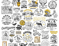 Badge Logo Collection by HOUS