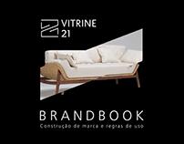 Diagramação Brandbook Vitrine 21
