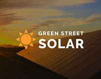 Green Street Solar Website Redesign