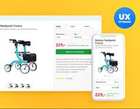 Medipoint UX improvements