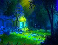 Cambodia Temple Entrance