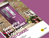 Portcullis Colour Range Branding and Print Advertising