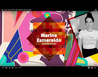 Live from OFFF with Marina Esmeraldo
