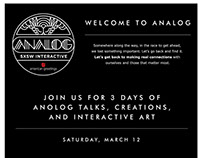 ANALOG SXSW