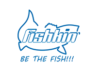 FISHKIN' Fishing Gear branding project