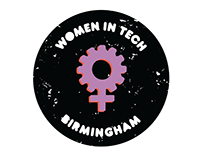 Women in Tech Birmingham Meetup Logo