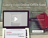 Cutting Edge Online Office Suite landing page