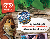 Wall's Paddle Pop Print Ad