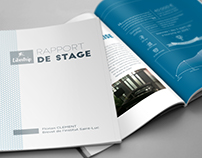 Rapport De Stage Internship Report On Behance