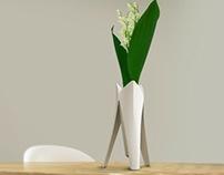 Tripod Vase for Mecaflor