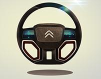Steering Wheel Design Concept Sketches 2