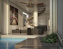 Golden Pool House