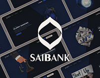 SAIB Bank UI/UX Website Design