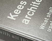 Photobook Kees Rijnboutt architect