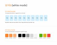 Game UI kit (white mode)