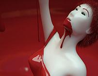 A Dama do Lago Vermelho