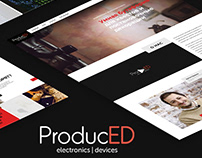 Website Produced - staging decorations / quest / UI/UX