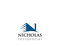 Logo concept for exclusive  and modern residential