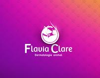 Flavia Clare Dermatologia animal - Branding