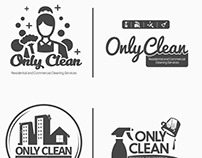 Only Clean Logo Design Concepts