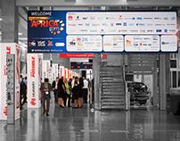 AfricaCom 2015 - Wayfinding & Sponsor signage