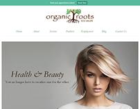 Organic Roots Eco Salon // WordPress Development