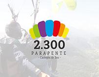2.300 Parapente