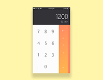 iOS Calculator App Redesign
