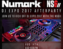 Numark NS6II DJ EXPO Afterparty