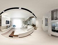 Arceb – VR case study – 360° Panoramic Render