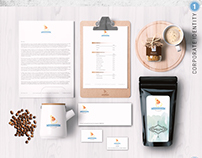 Goldenhusk Coffee // Branding, Packaging, Website