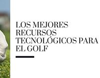 Los mejores recursos tecnológicos para el golf