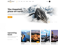 PGP Travel Landing Page
