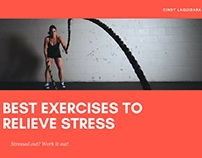 Stressed Out? Work It Out!