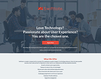 Swifttote Career Page.